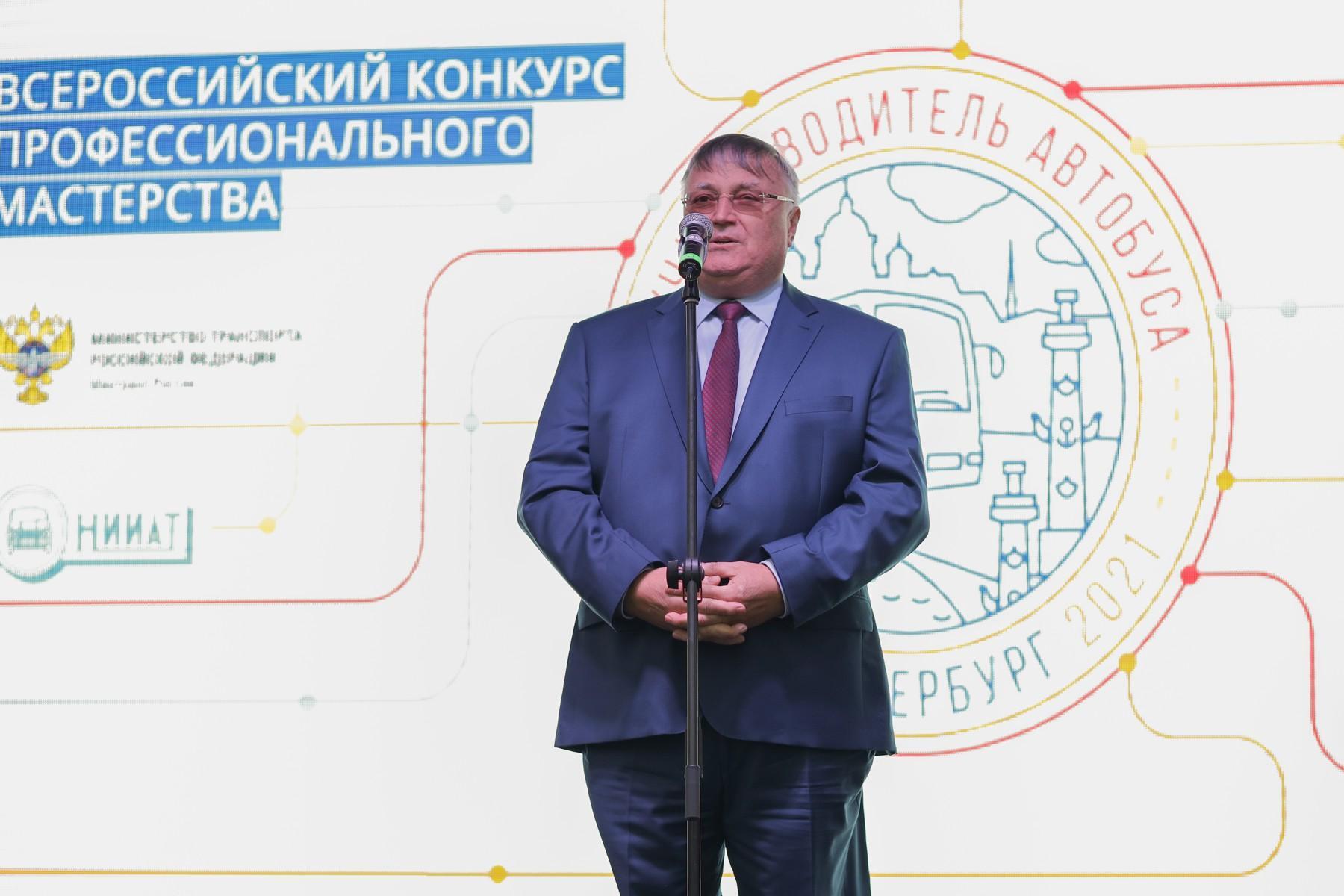 В Санкт-Петербурге определили лучших водителей автобусов